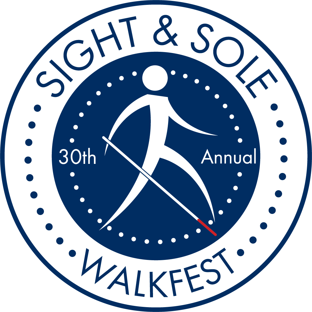 30th Annual Sight & Sole Logo